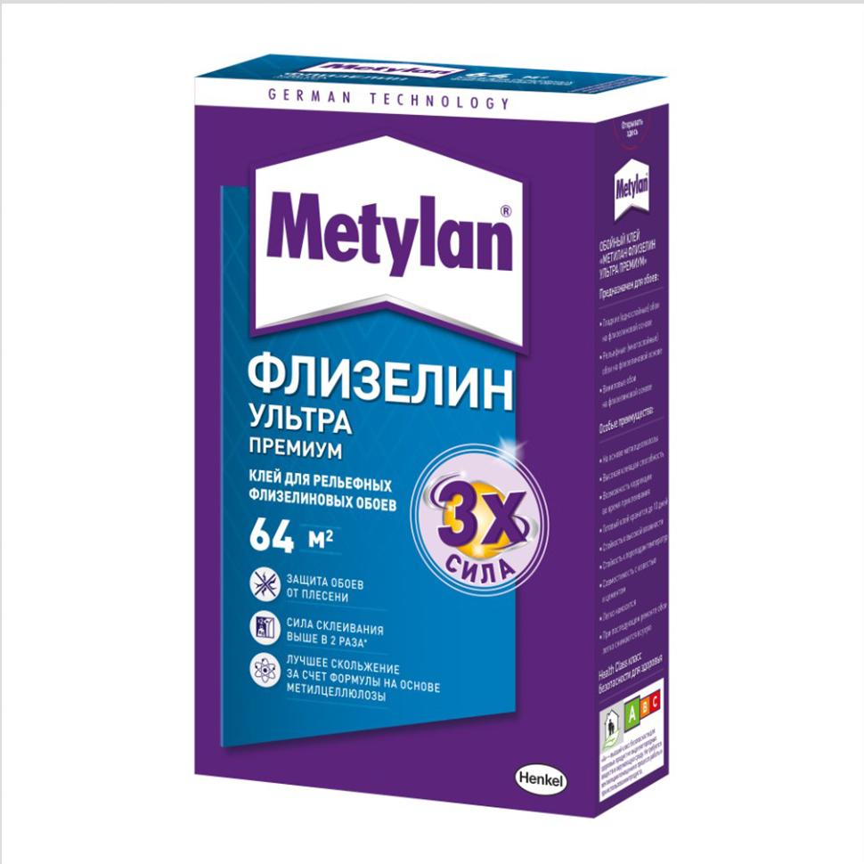 Клей для обоев METYLAN Флизелин 250г - PRORAB
