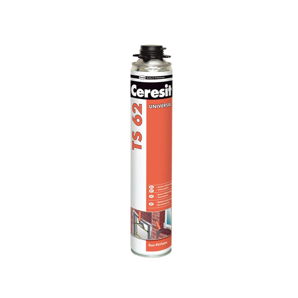 Пена монтажная CERESIT TS-62 750мл профессиональная - PRORAB image-1