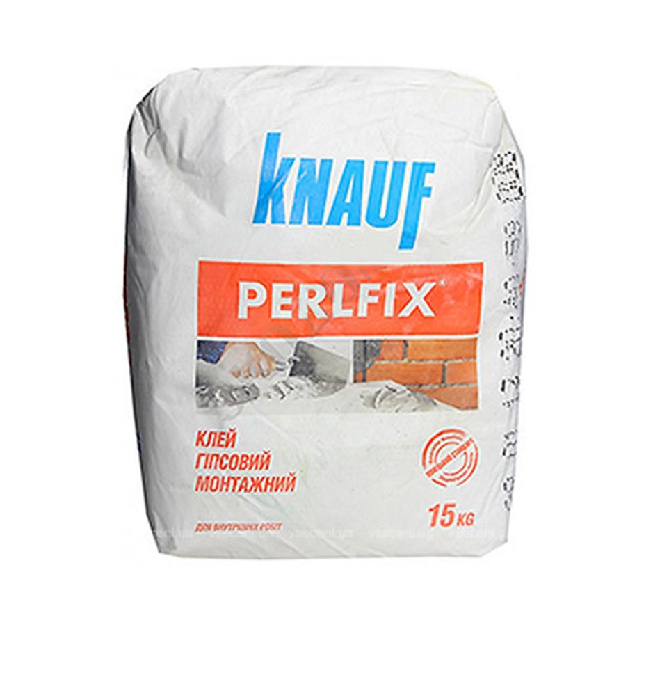 Клей для гипсокартона KNAUF Perlfix 15кг - PRORAB