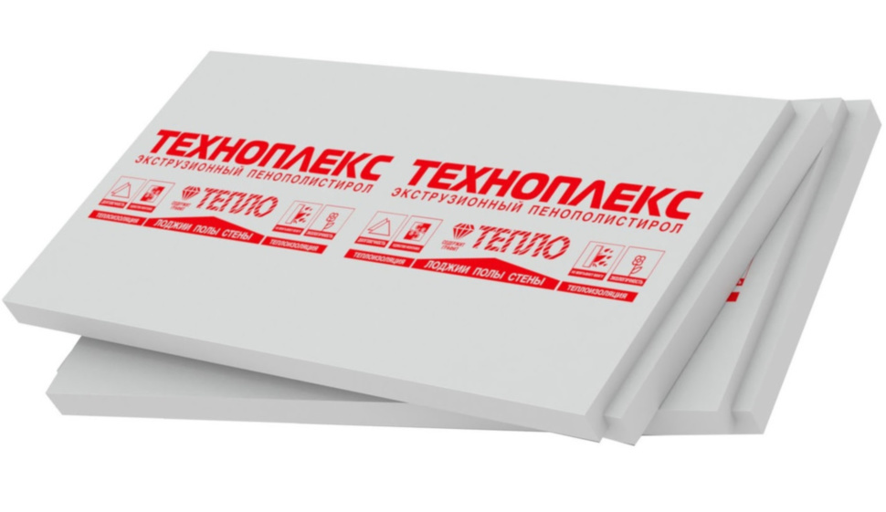 Пенополистирол ТЕХНОПЛЕКС 1100 * 550 * 40мм - PRORAB image-1