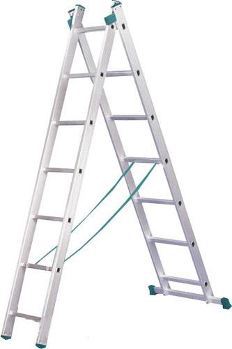 Лестница универсальная 2-секционная ITOSS 2 * 7 ступенек - PRORAB