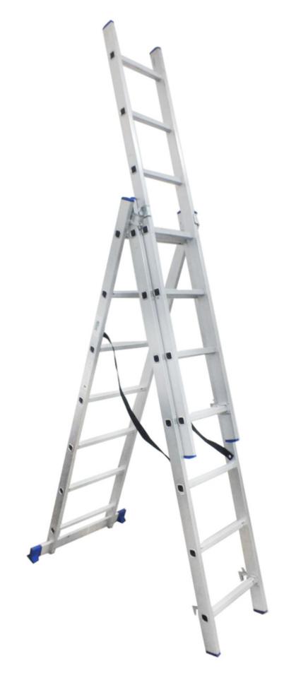 Лестница универсальная 3-секционная ITOSS 3 * 7 ступенек - PRORAB