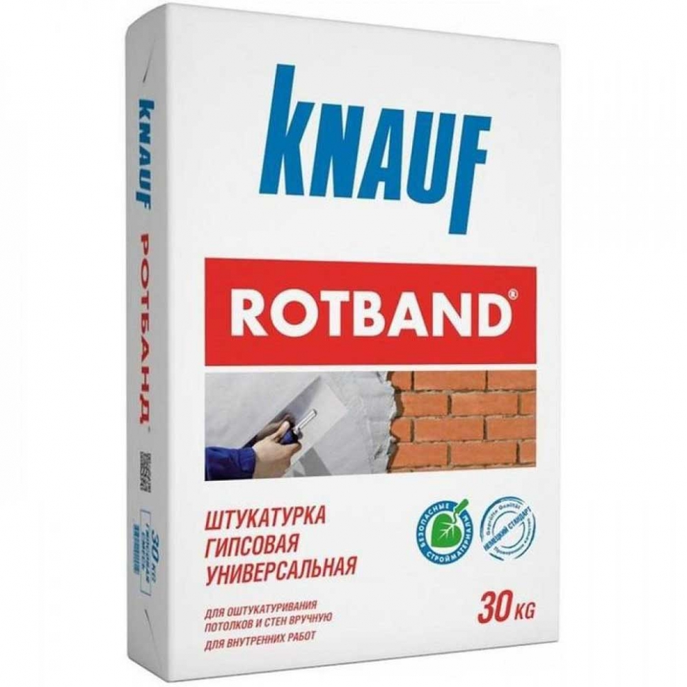 Штукатурка KNAUF Rotband 30кг - PRORAB image-1