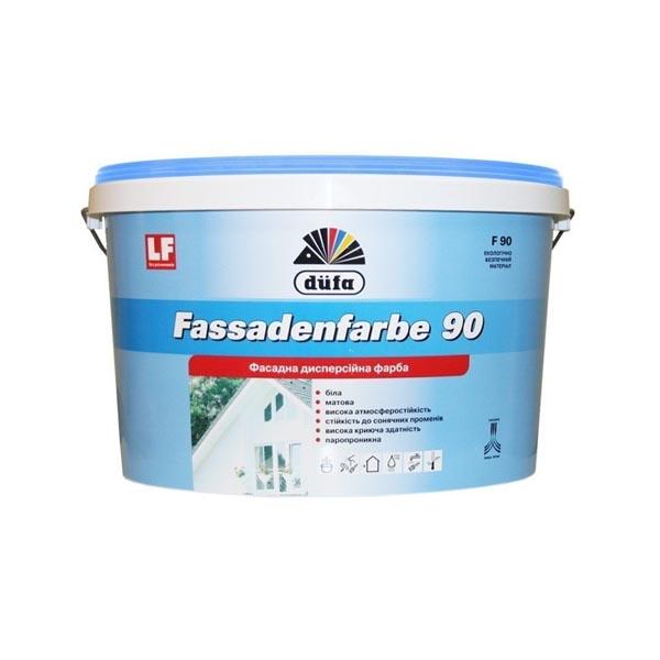 Краска фасадная DUFA Fassadenfarbe F90 1л - PRORAB image-1
