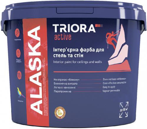 Краска интерьерная TRIORA для стен и потолков 1л - PRORAB image-4