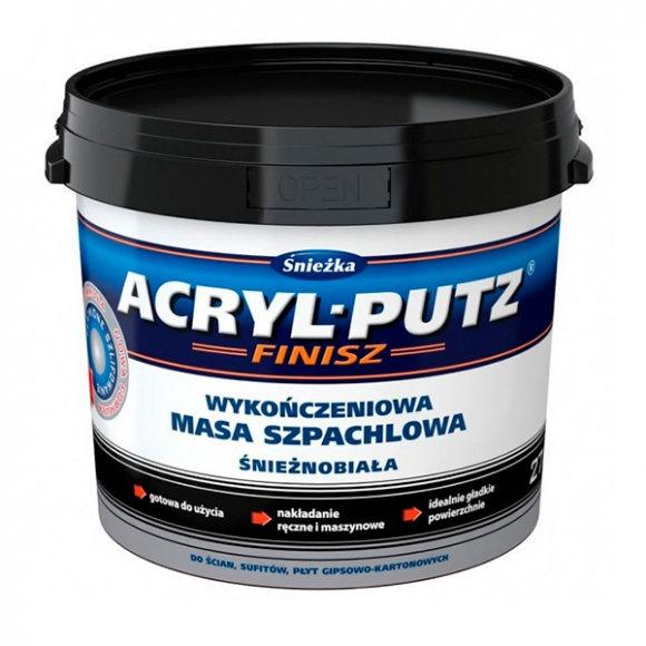 Шпаклевка SNIEZKA Acryl-Putz FS20 финиш 5кг - PRORAB image-3