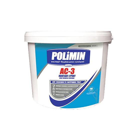 Фарба грунтуюча POLIMIN АС-3 5кг - PRORAB image-1