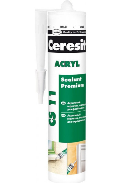 Герметик акриловый CERESIT CS 11 280мл - PRORAB image-1
