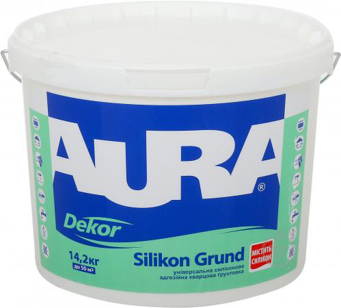 Грунтовка AURA Dekor Silikon Grund 10л - PRORAB image-1