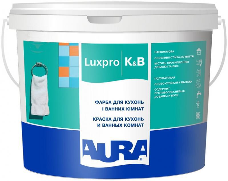 Краска AURA Luxpro K & B 10л - PRORAB