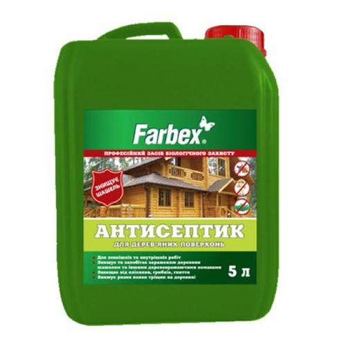 Антисептик FARBEX для дерева 5л - PRORAB