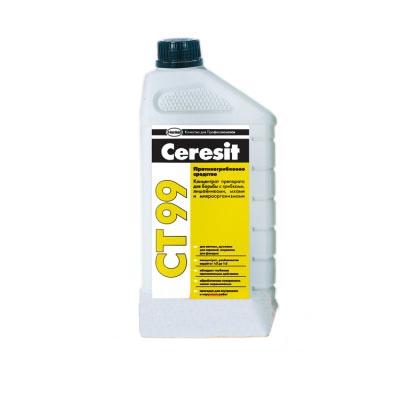 Грунтовка CERESIT CT-99 1л антимикробная - PRORAB image-1