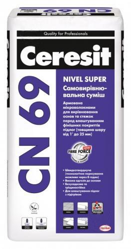 Самовыравнивающаяся смесь CERESIT CN-69 25кг - PRORAB image-3