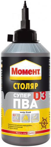 Клей МОМЕНТ Супер ПВА Д3 750г - PRORAB image-2