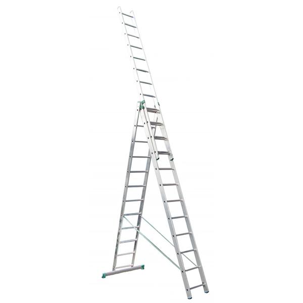 Лестница универсальная 3-секционная ITOSS 3 * 11 ступеней - PRORAB image-2
