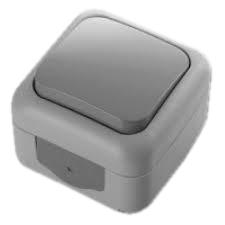 Выключатель VIKO Palmiye 1-клавишный, внешний серый - PRORAB image-18