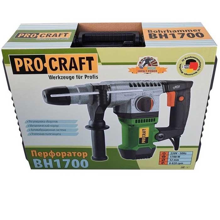 Перфоратор PROCRAFT BH-1700 - PRORAB image-1