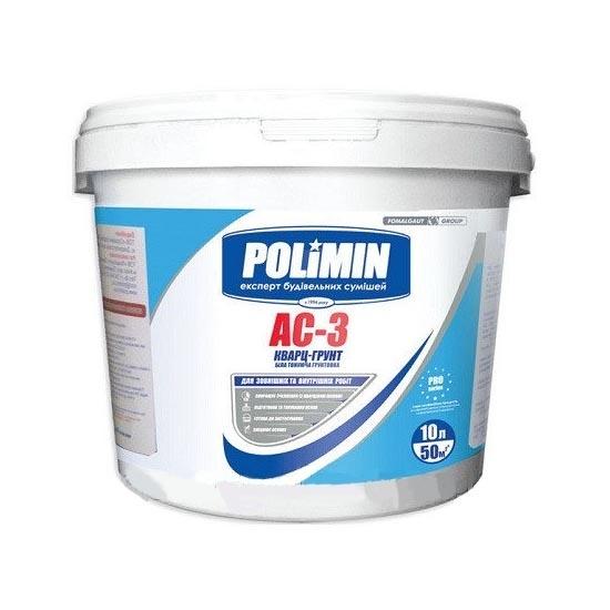 Фарба грунтуюча POLIMIN АС-3 5кг - PRORAB image-2