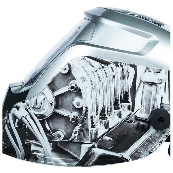 Маска сварщика VITALS Profi Engine 2500 LCD хамелеон - PRORAB image-3