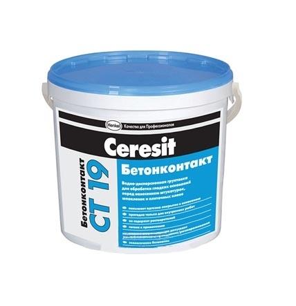 Грунтовка CERESIT СТ-19 Бетонконтакт 4,5кг - PRORAB image-3