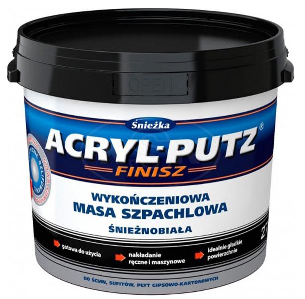 Шпаклевка SNIEZKA Acryl-Putz FS20 финиш 17кг - PRORAB image-1