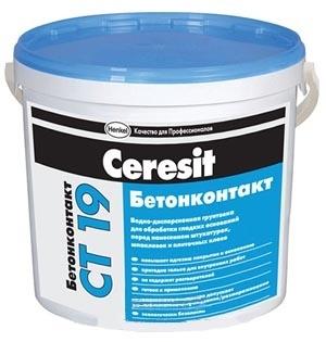Грунтовка CERESIT СТ-19 Бетонконтакт 7,5кг - PRORAB image-4
