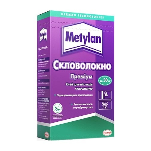 Клей для обоев METYLAN Стекловолокно премиум 500г - PRORAB image-1