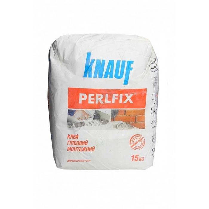Клей для гипсокартона KNAUF Perlfix 15кг - PRORAB image-1