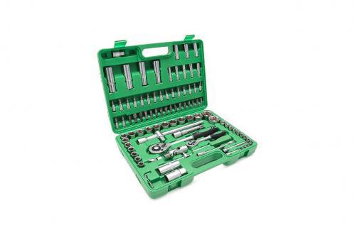 Набор инструментов INTERTOOL 1/2 * 1/4 108шт ЕТ-6108SP - PRORAB image-1