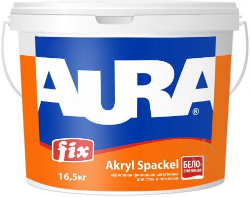 Шпатлевка акриловая AURA Fix Akryl Spackel 16,5кг - PRORAB image-2