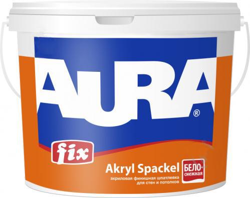 Шпатлевка акриловая AURA Fix Akryl Spackel 8кг - PRORAB image-4