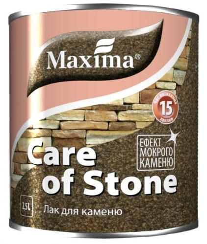 Лак для камня MAXIMA 2,5л матовый - PRORAB image-3