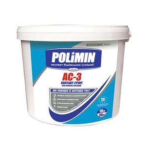 Краска Грунтующая POLIMIN АС-3 15кг - PRORAB image-1